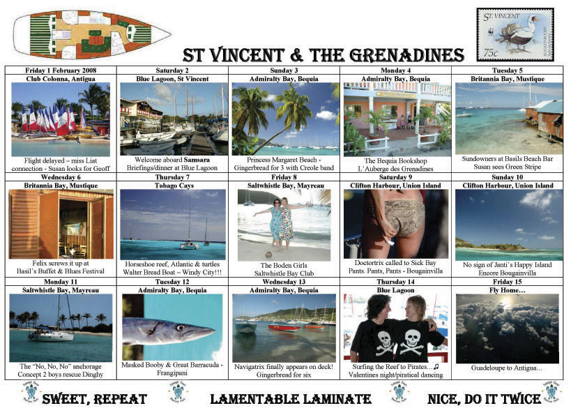 St Vincent Postcard 2008