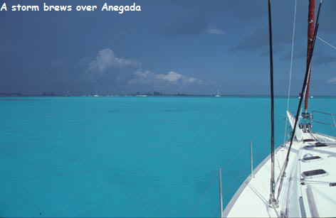 Yabajaba at Anegada BVI 2001